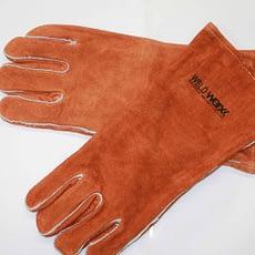 Welders Brown Gloves Split Cowhide